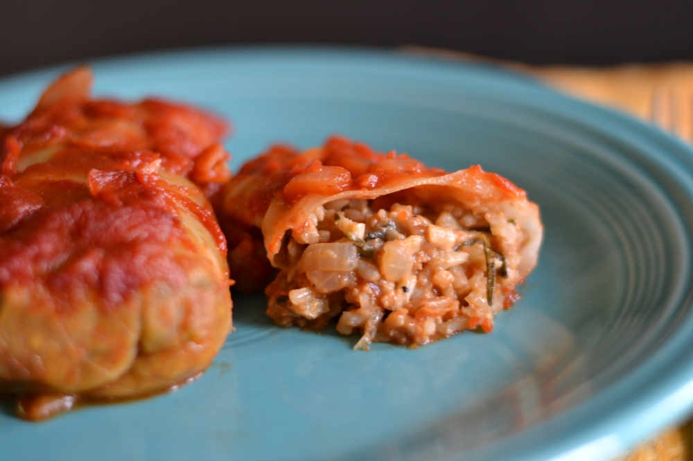 "Alt=""Vegan Herb Cabbage Rolls"""