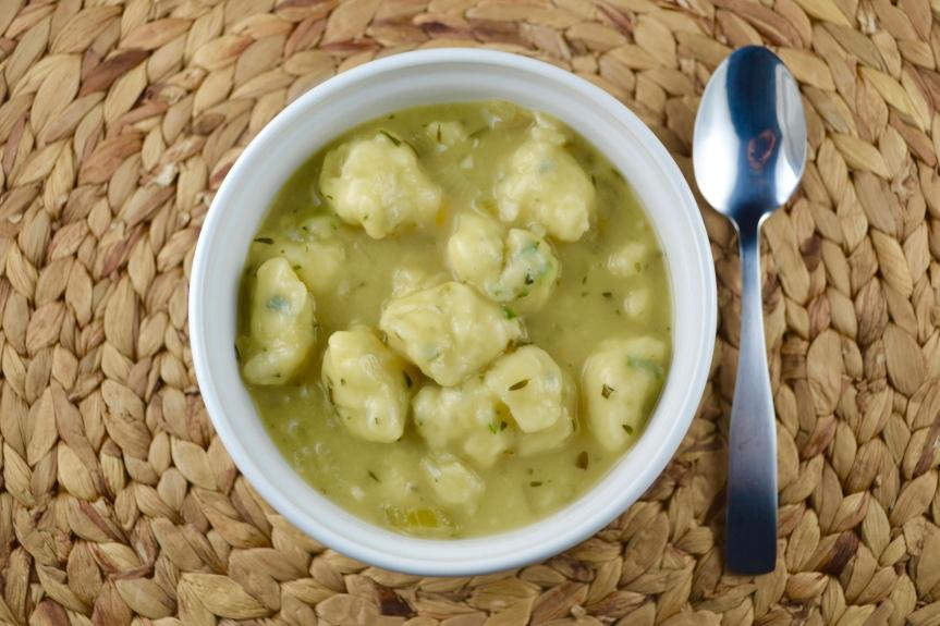 Savory Dumpling Soup