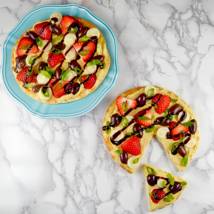 Refreshing Pita Pizza