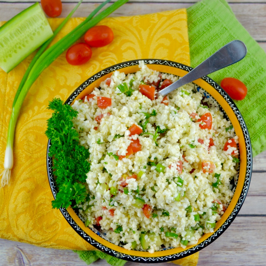 Cauliflower Tabouleh