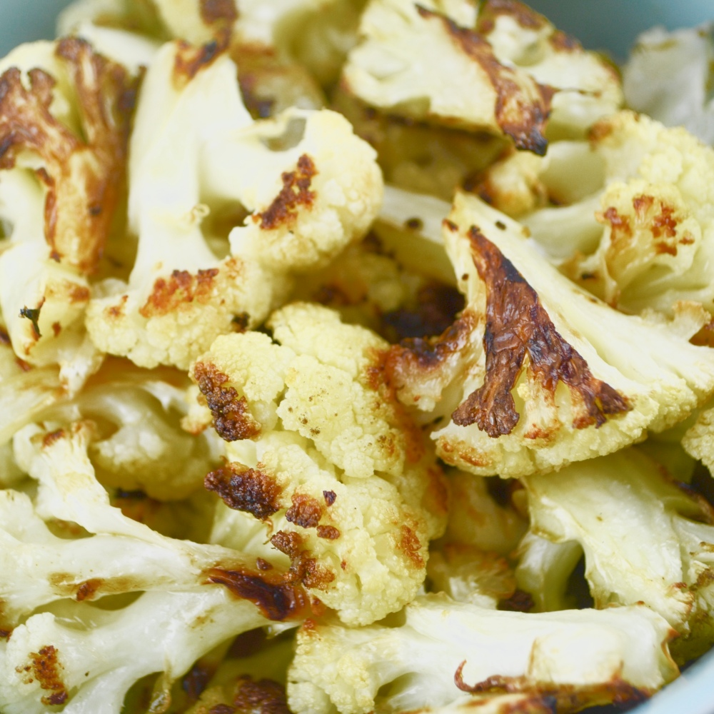 "Alt=""Garlic Roasted Cauliflower"""