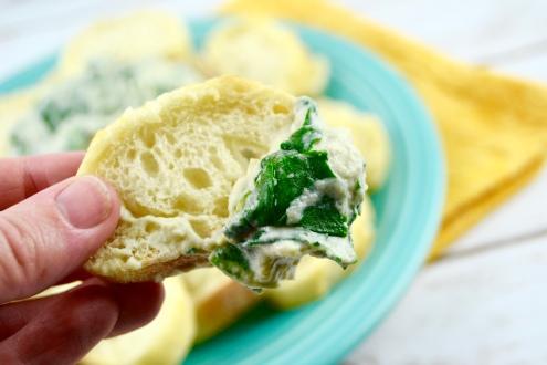 """Alt=""""Vegan Spinach Artichoke Dip"""""""
