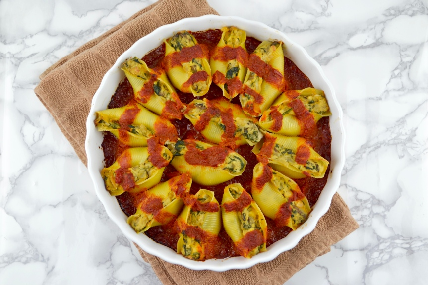 "Alt=""Vegan Stuffed Shells"""