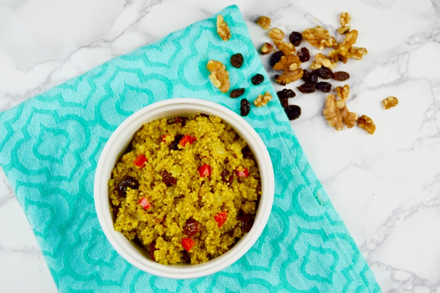 Coconut Curried Quinoa